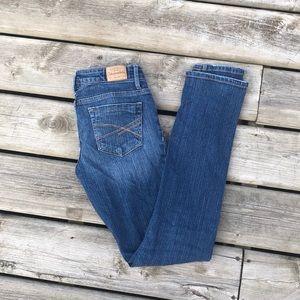 Aeropostale Bayla Skinny Jeans 0 Regular